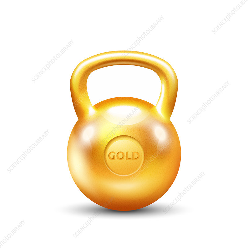 Kettlebell, illustration