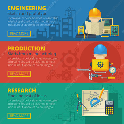 Civil engineering, illustration