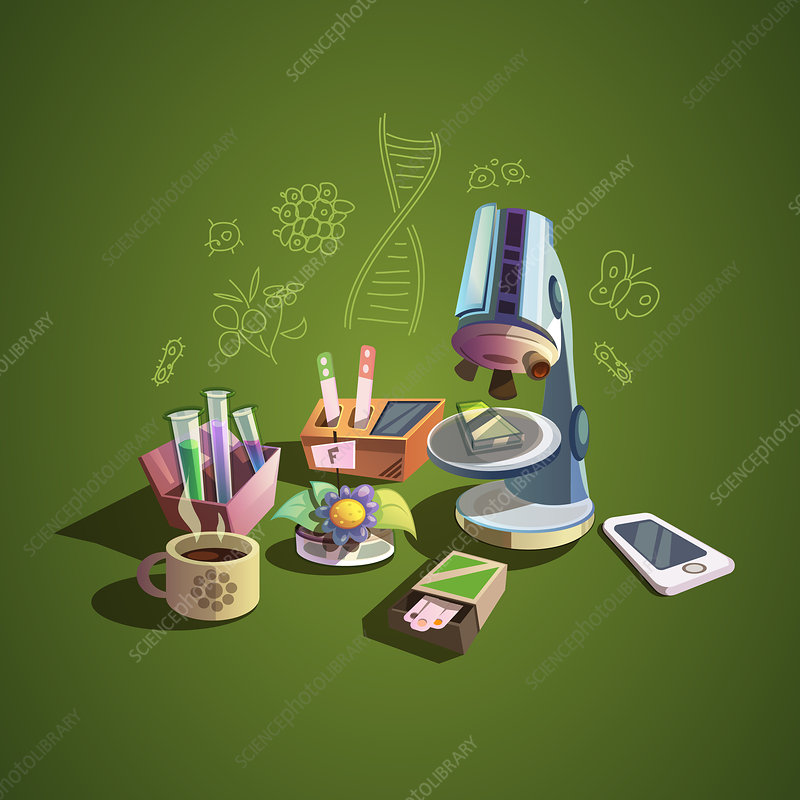 Biology, illustration