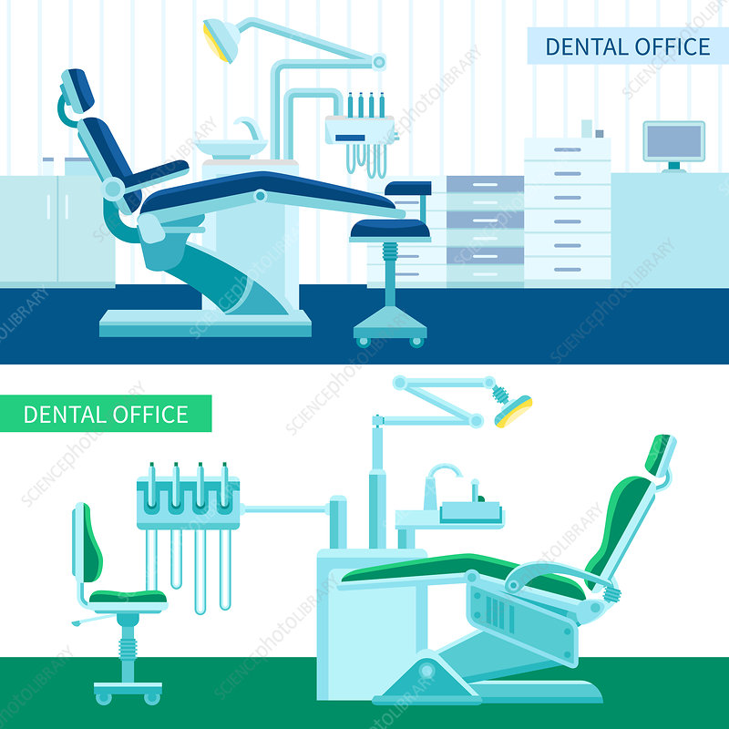 Dental surgeries, illustration