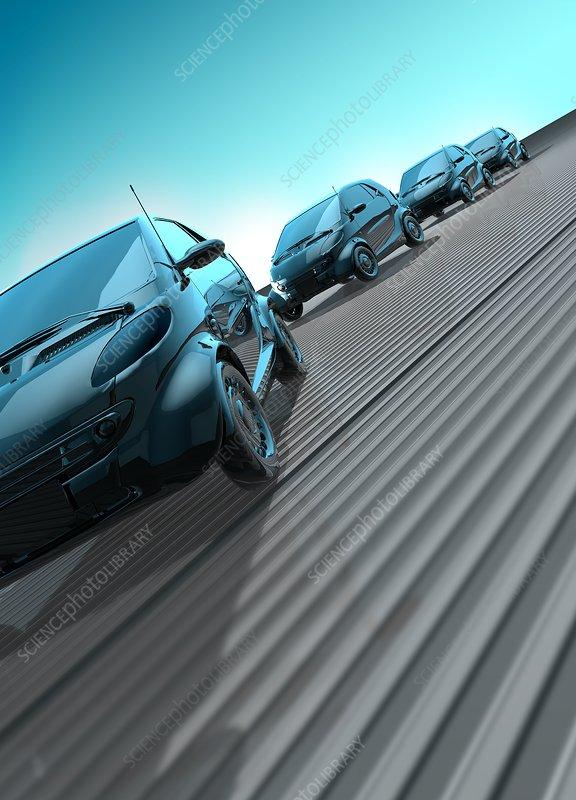 Cars, illustration