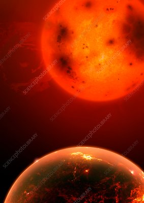Exoplanet Kepler 1649b, illustration