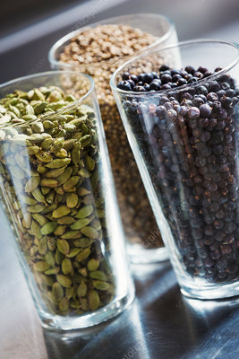 Spices and seeds to flavour beer