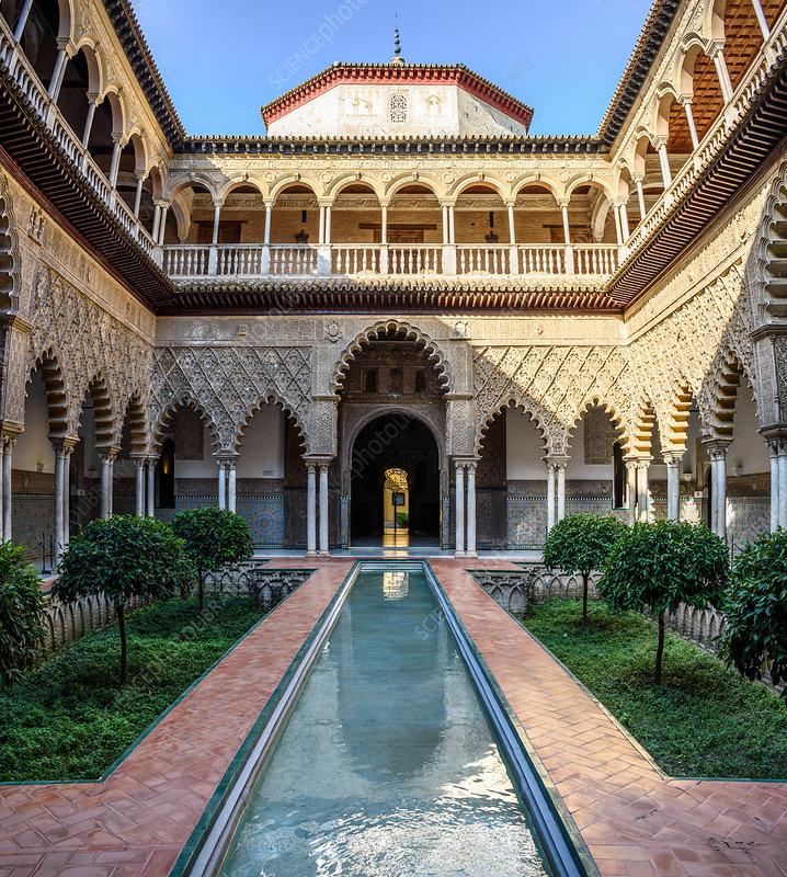 Patio of the Maidens, Alcazar de Seville