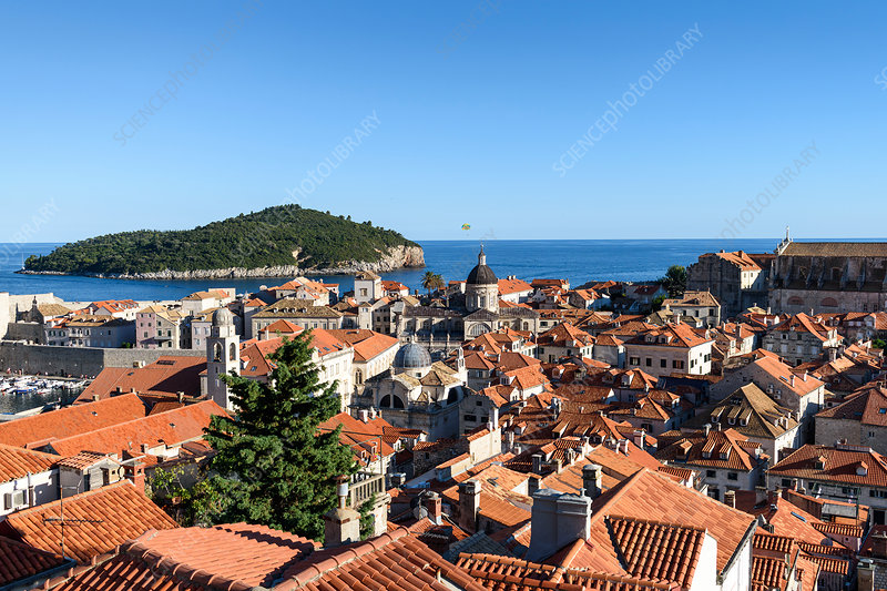 Historic old town of Dubrovnik