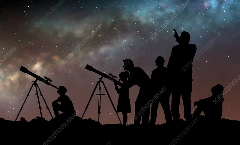 Star party, illustration