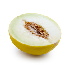 Half a honeydew melon