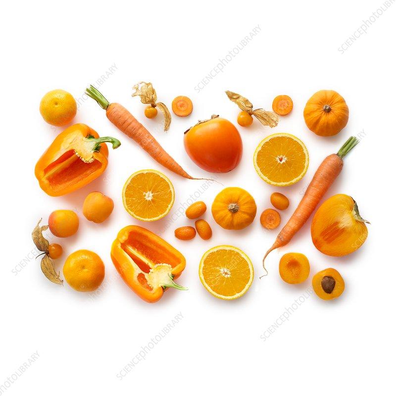 Fresh orange produce