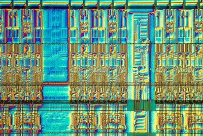 Computer memory chip, LM