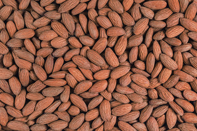 Almonds, full frame