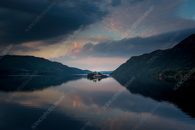 Ullswater sunset, The Lake District, UK