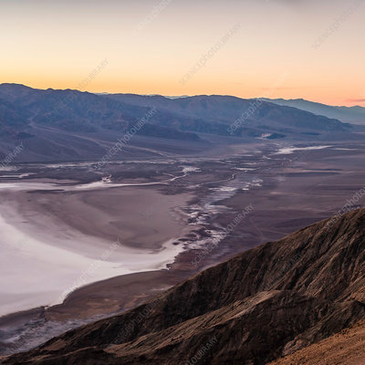 Landscape from Dante's View, Death Valley, USA