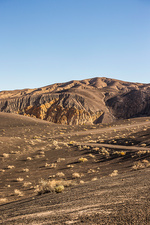 Landscape at Ubehebe Crater in Death Valley, USA