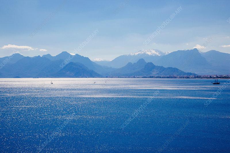 Sea at Antalya, Turkey