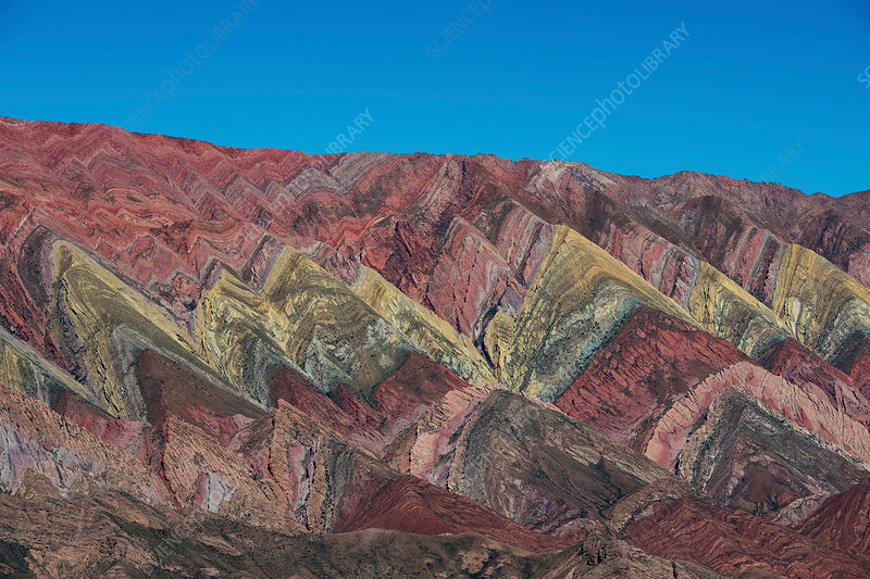 Colourful mountains of Humahuaca, Argentina