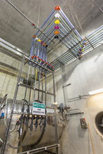 Water treatment plant chemical injection system