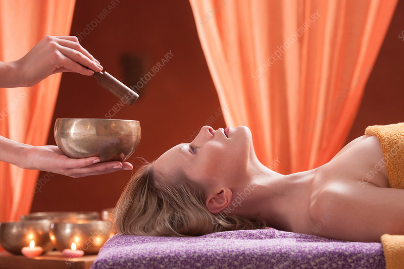 Woman in spa environment, having relaxation treatment