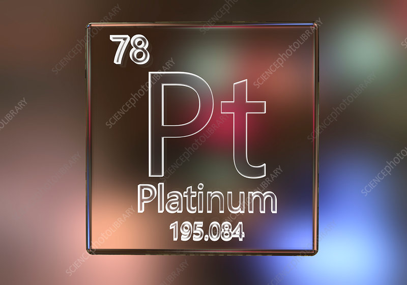 Platinum element, illustration