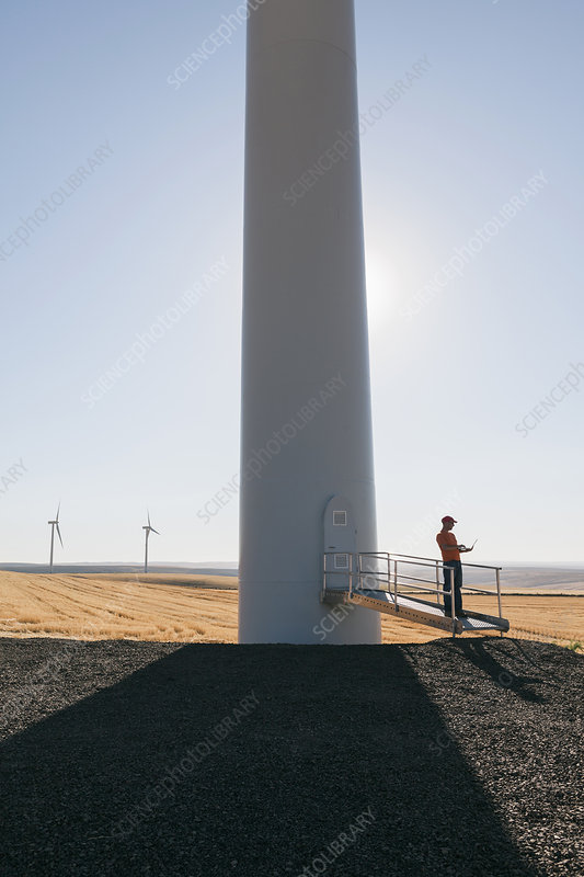Wind farm technician