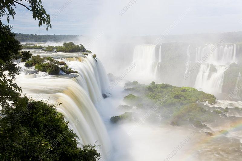 Iguazu Falls, Cataratta Foz do Iguacu, Brazil