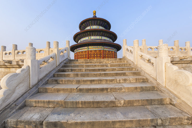 Temple of Heaven, Hall of Prayer for Good Harvest, China