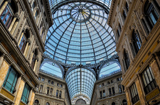 Galleria Umberto I shopping centre, Naples, Italy