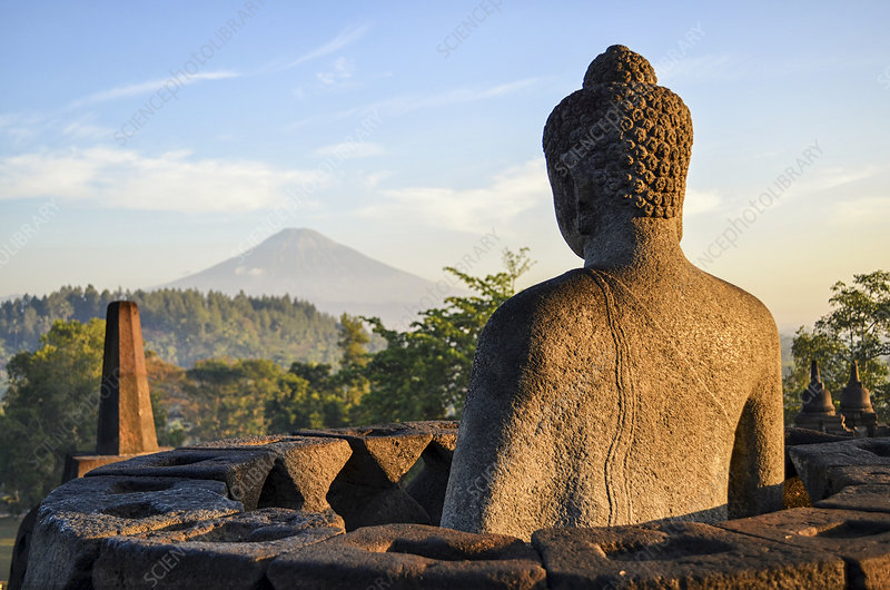 Borobudur temple, Java, Indonesia