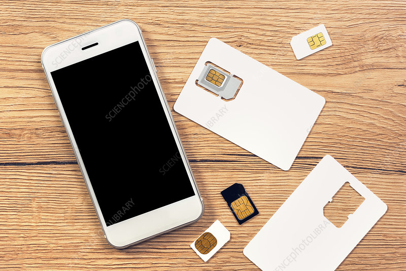 Smartphone and SIM cards