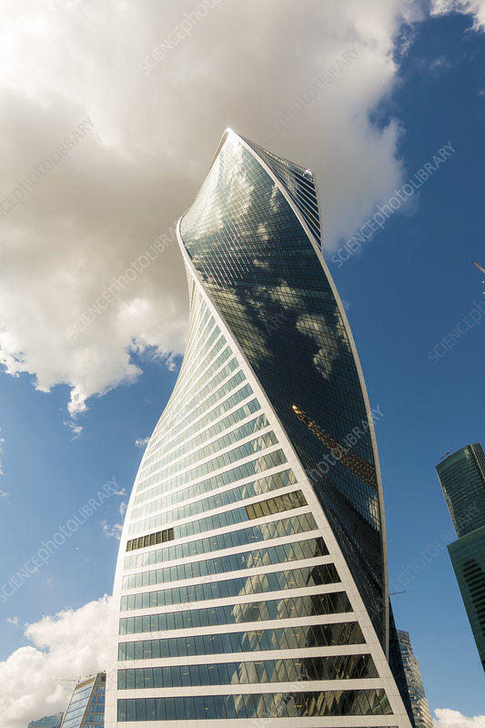 Evolution Tower, Moscow, Russia