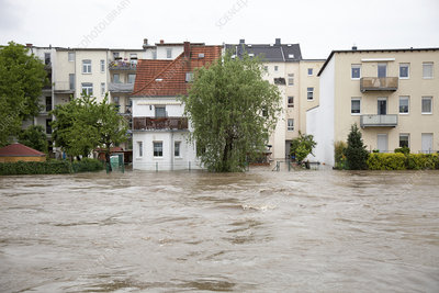Flooding, Gera, Germany, 2016