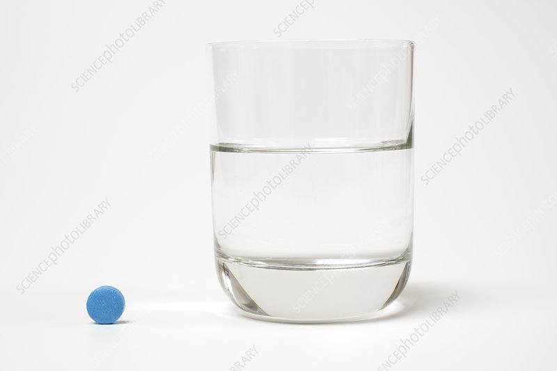 Medication and glass of water