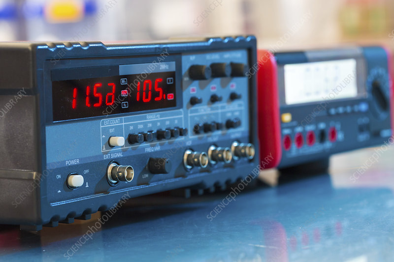 Electronic test equipment