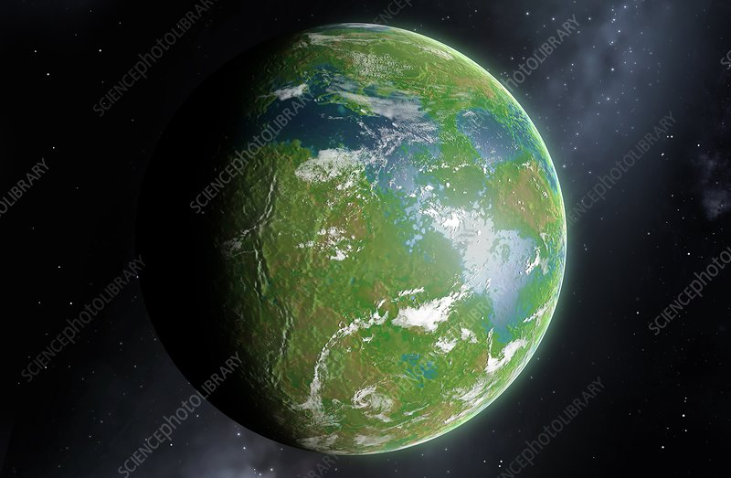 Terraformed Venus, illustration
