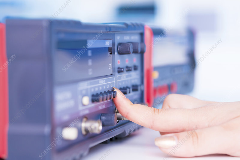Using electronic test equipment