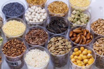 Beans, pulses and grains