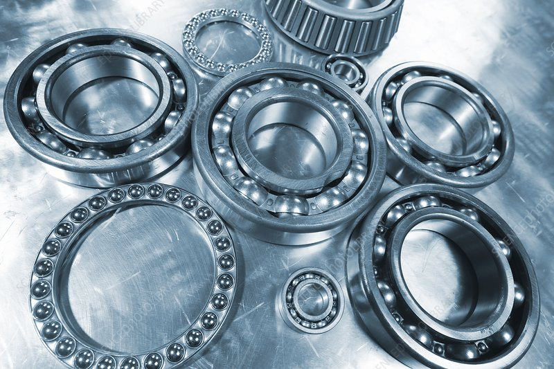 Ball bearings with pinions