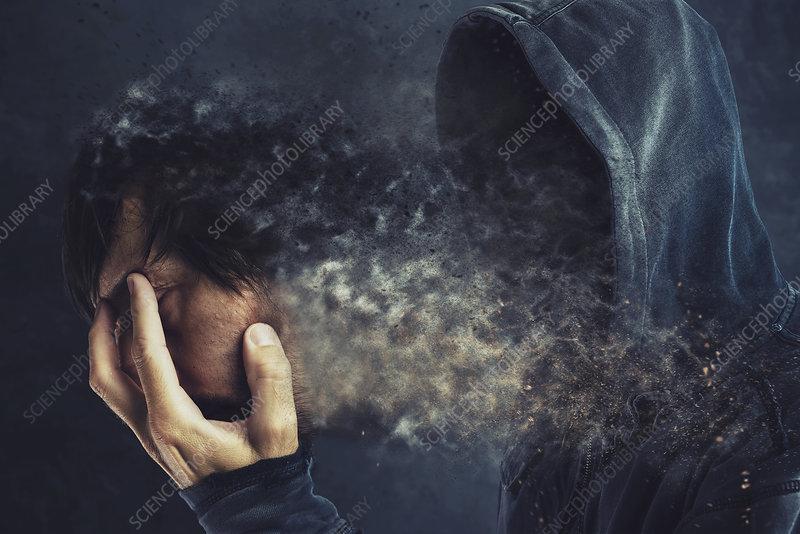 Anonymity, conceptual image