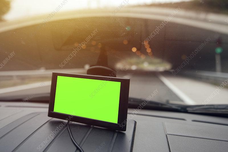 Car sat nav system