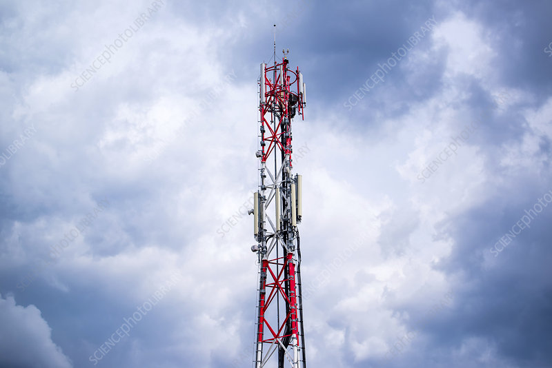 Mobile phone antenna tower