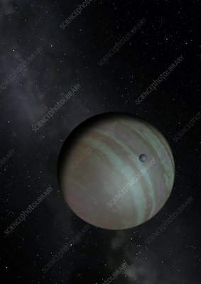 Artwork of Exoplanet CVSO 30 c