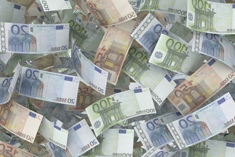 Euro banknotes, illustration