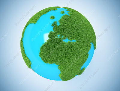 Green Earth, conceptual illustration