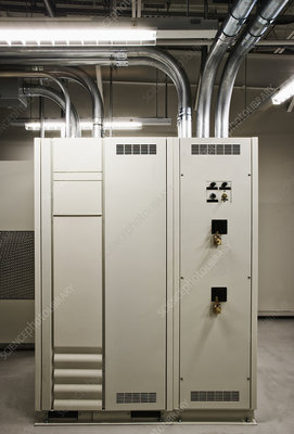 Control unit in computer server room