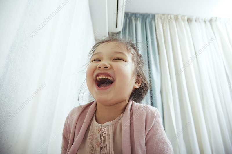 Cute, laughing girl