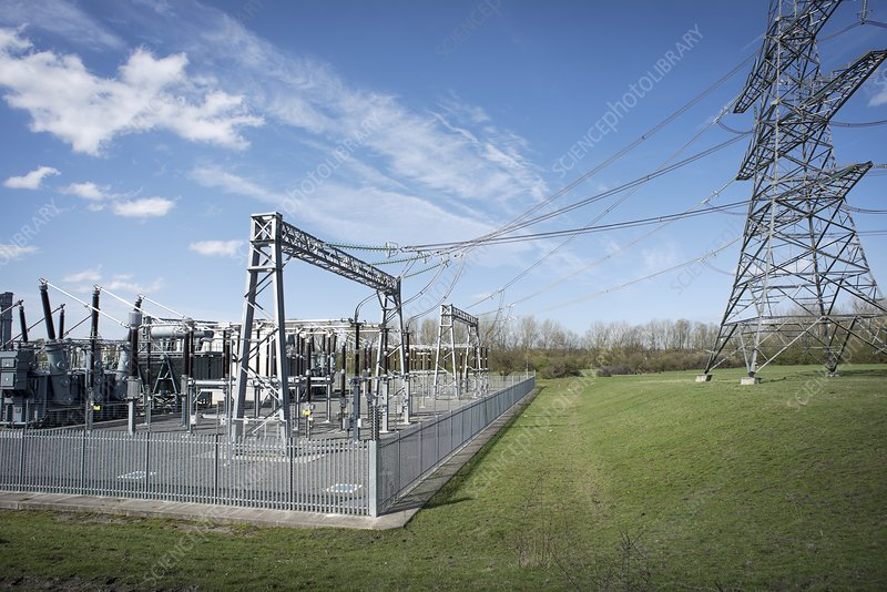 Electricity generating substation