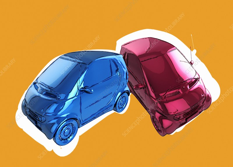Compact cars, illustration