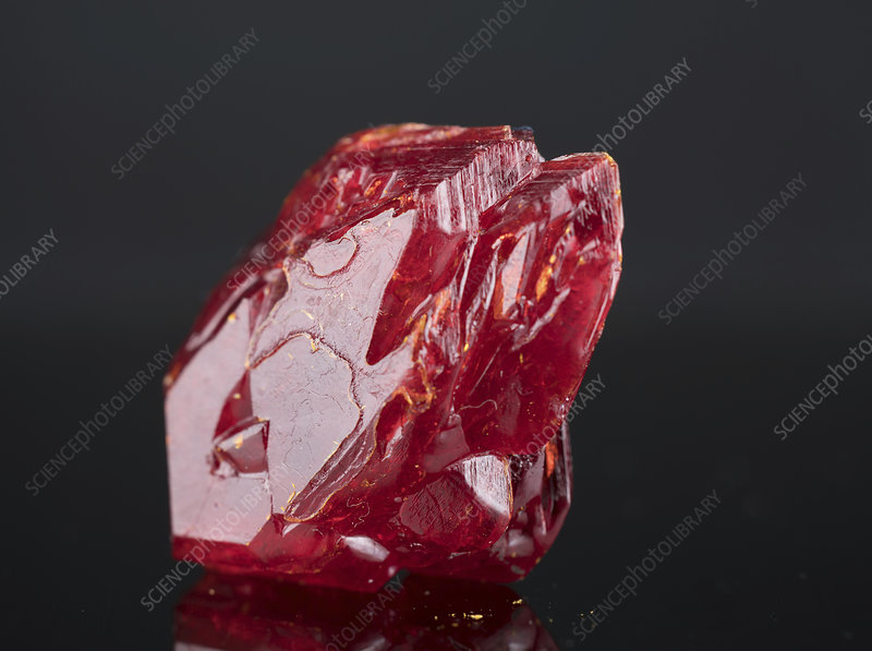 Red mineral