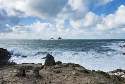 Cot Valley, Porth Nanven Cove and Brisons Rocks, Cornwall