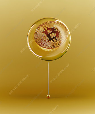 Golden Bitcoin bubble