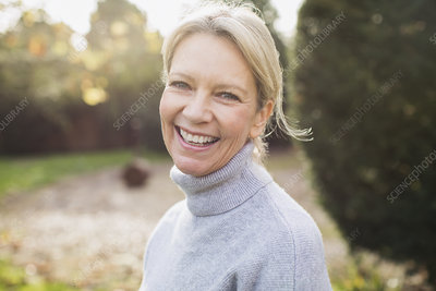 Portrait mature woman